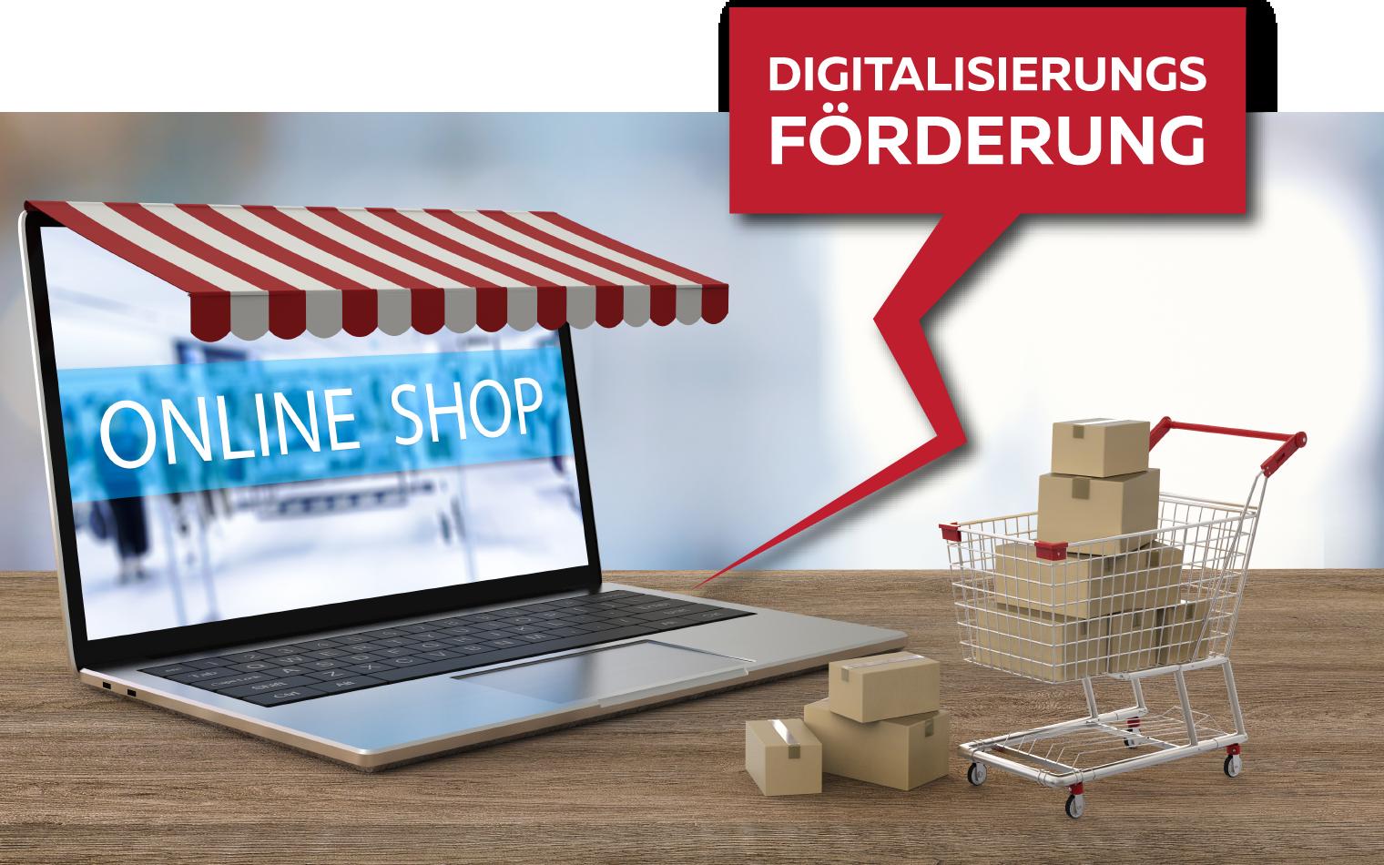 dsignery Werbeagentur Förderung Onlineshop