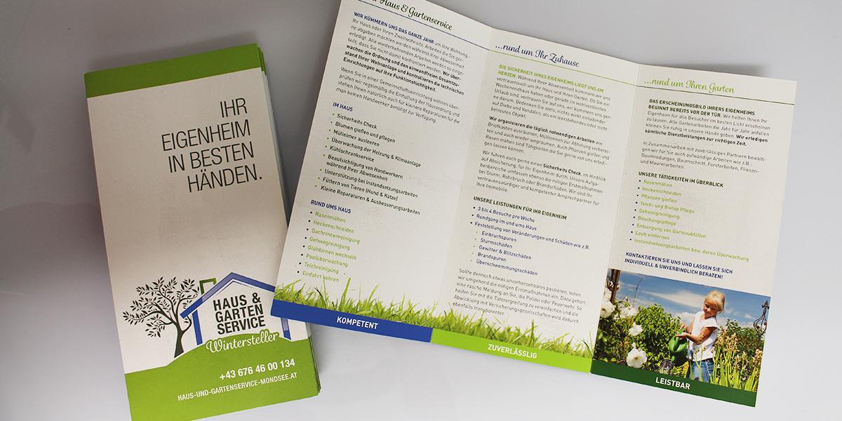 Folder für Haus und Garten
