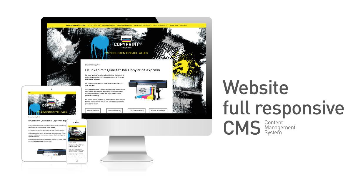 CopyPrint-Website