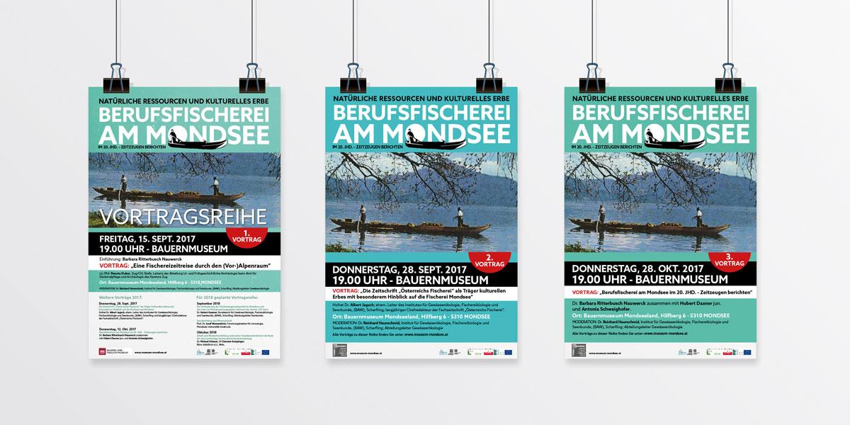 Berufsfischerei-Plakatserie