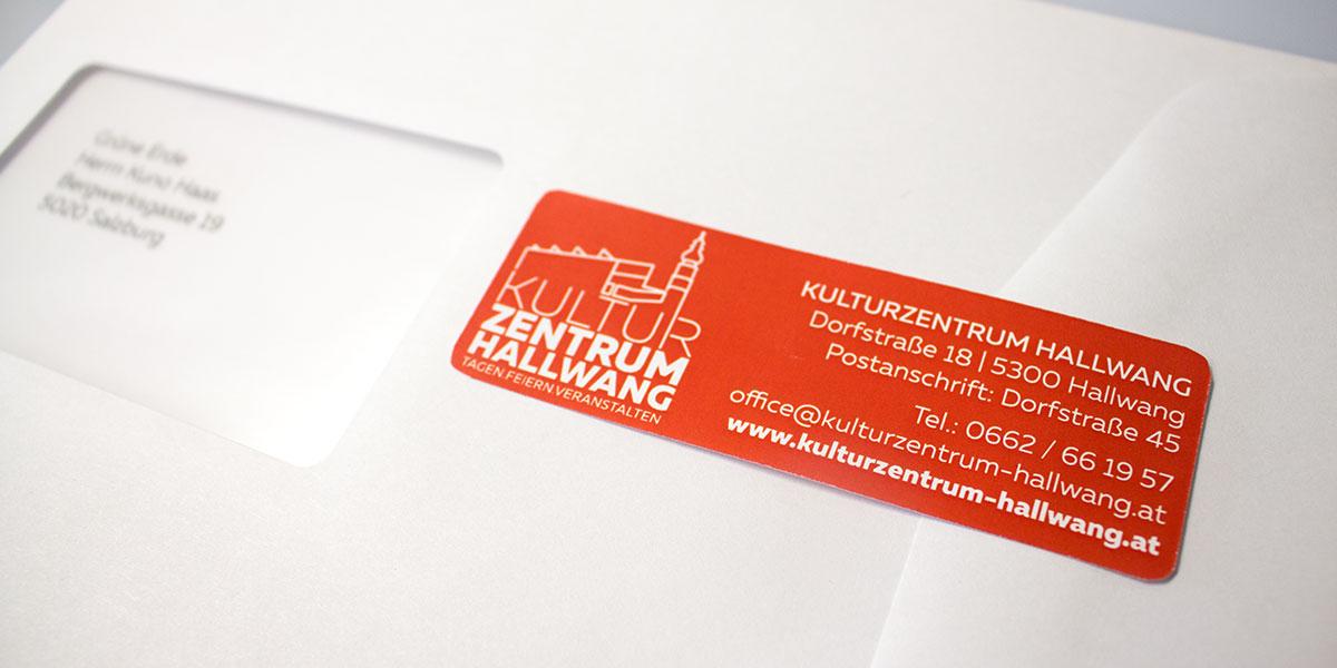 Adressaufkleber-Kulturzentrum-Hallwang