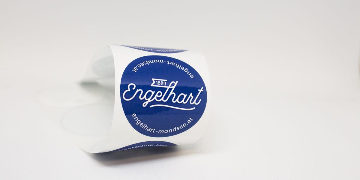 Engelhart-Aufkleber