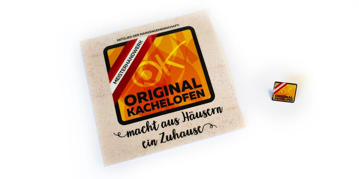 Aufkleber-Anstecker-Original-Kachelofen