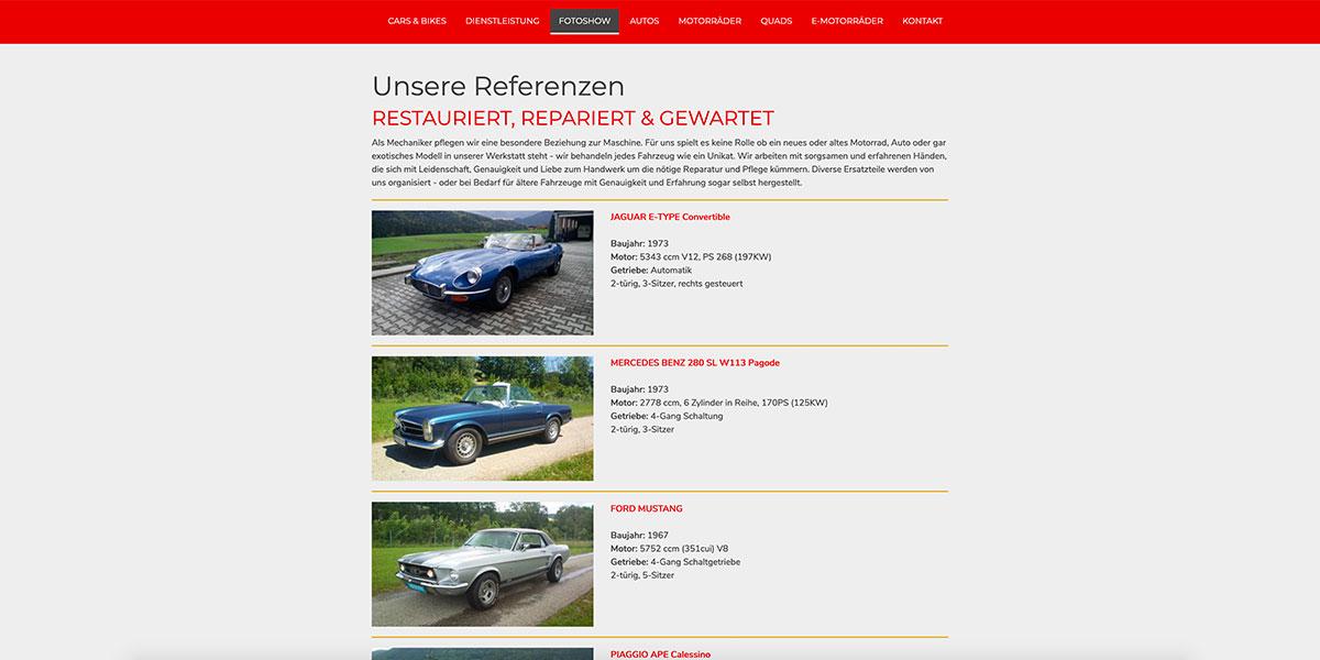 dsignery_Cars&Bikes_Webseite_Referenzen