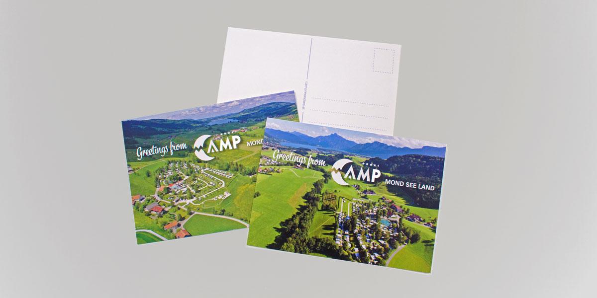 Camp Mondseeland Postkarten