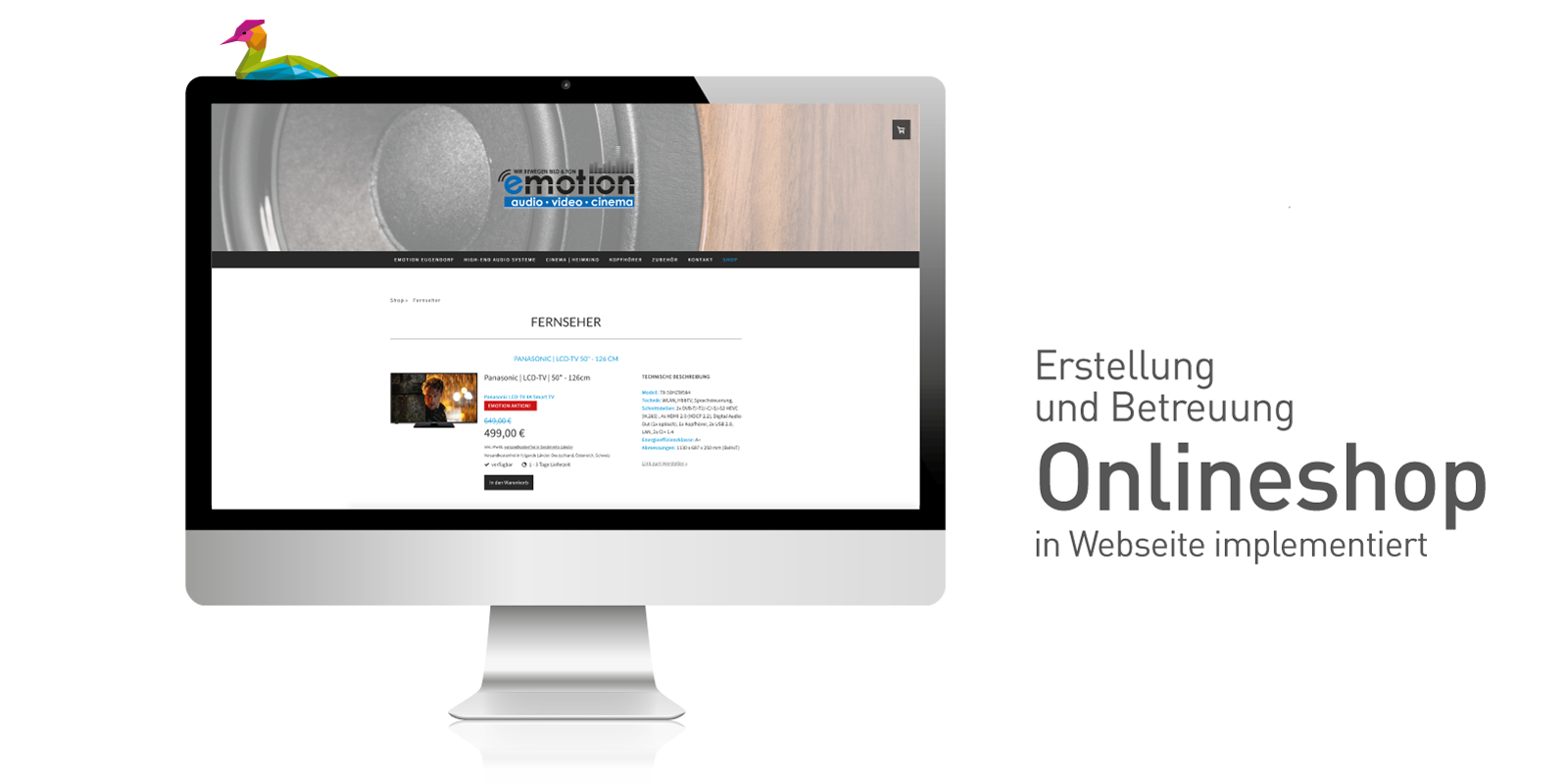 Emotion-Onlineshop