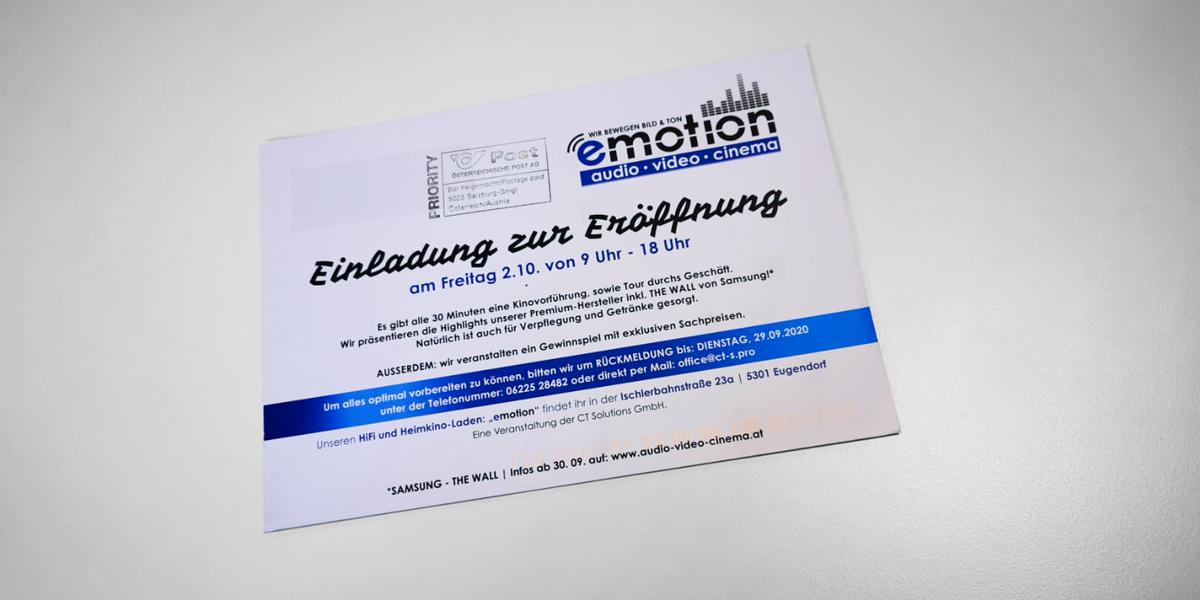 emotion Eugendorf Einladung dsignery