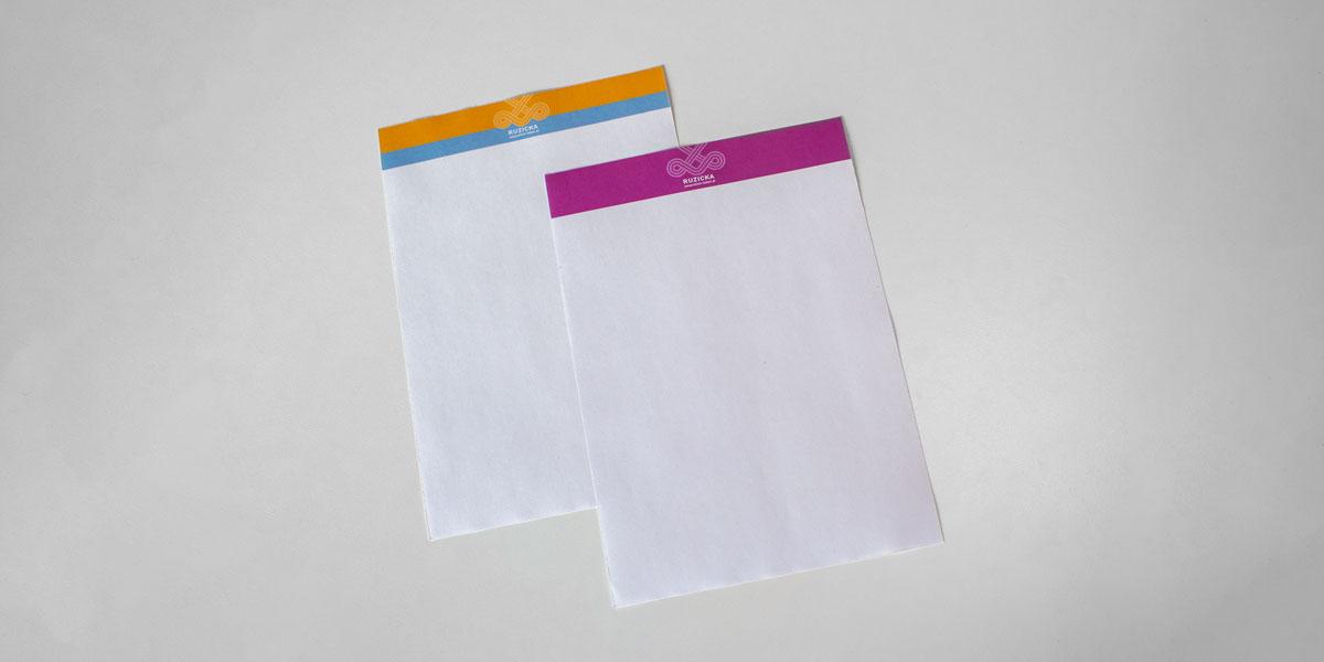 dsignery Briefpapier wesentlich leben